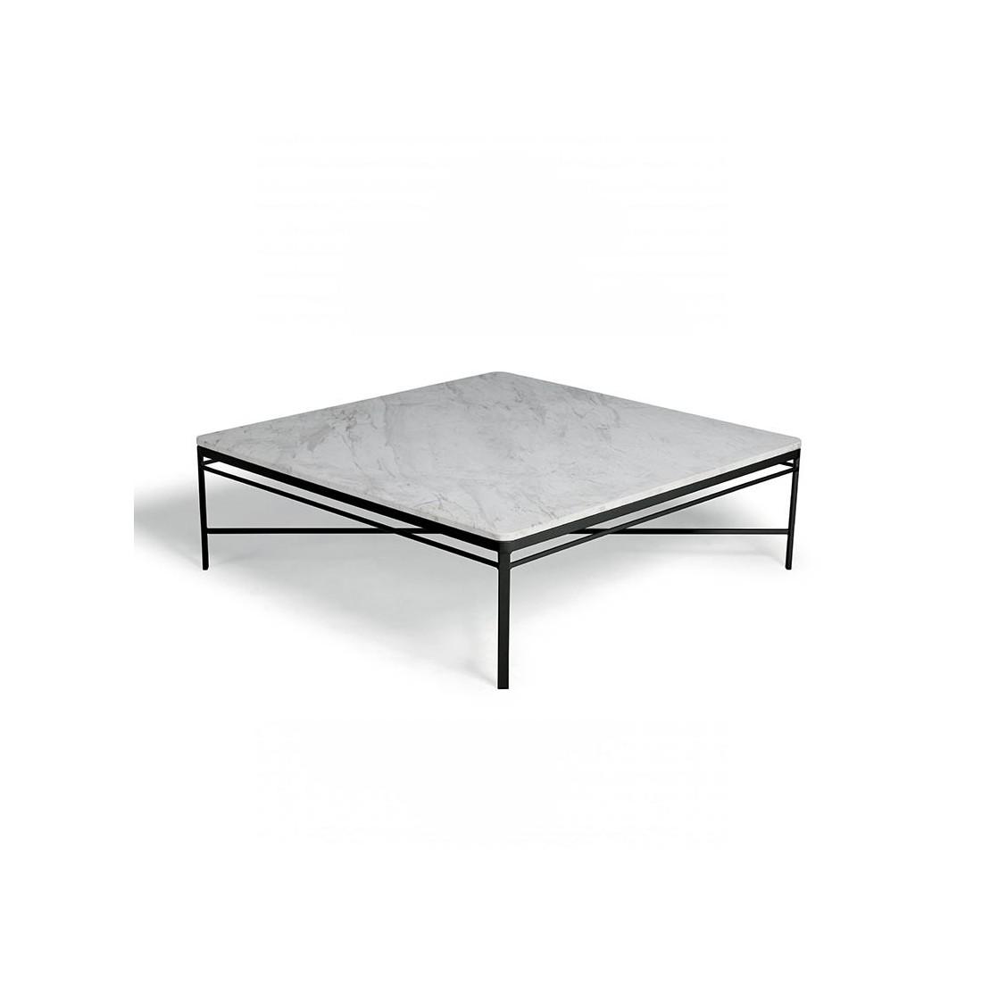 Table basse carr e pour votre terrasse et jardin - Table carree 120 cm ...