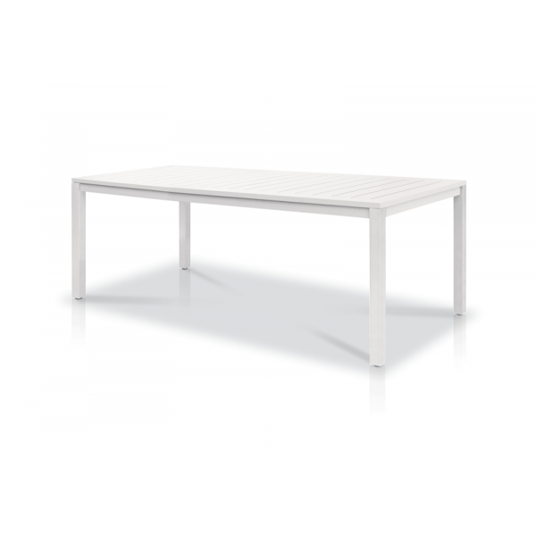 table neptune aluminium vlaemynck