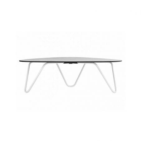 COCOON table basse Ciment - Kaolin - LAFUMA