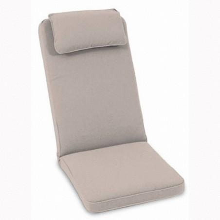 Coussin de fauteuil multiposition déhoussable, 9 cm, valemynck