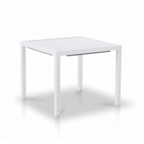 Table basse en aluminium 45 x 45 cm Neptune, Vlaemynck