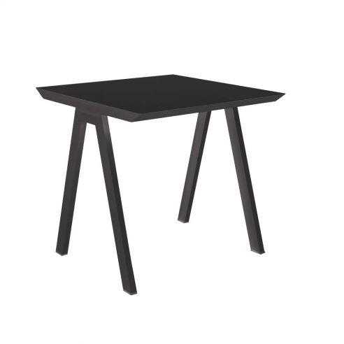 Table repas 80 x 80 cm VANITY -anthracite - VLAEMYNCK