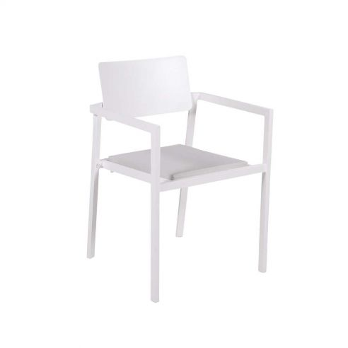 Fauteuil repas PERSPECTIVE - blanc - VLAEMYNCK