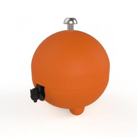 Cache cubi 3 L, coloris orange soft mat LaBoul®