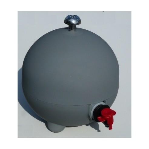 Cache cubi 3 L, coloris gris soft mat LaBoul®
