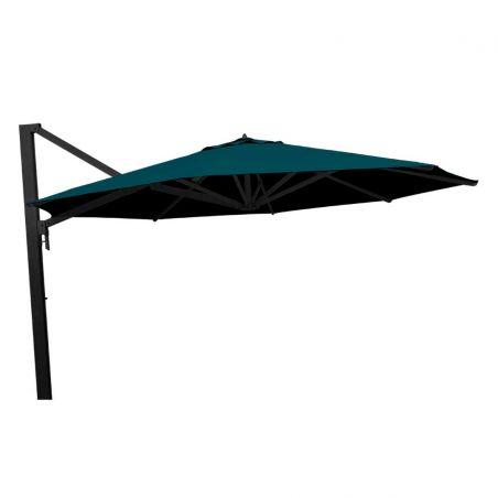 Parasol excentré Borée - Ø350 cm - mât anthracite - Vlaemynck