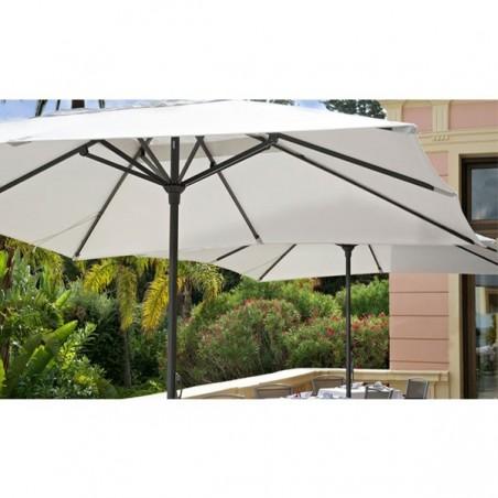 Parasol EASY OPEN 4m x 4m - VLAEMYNCK - Confort Jardin - les Issambres