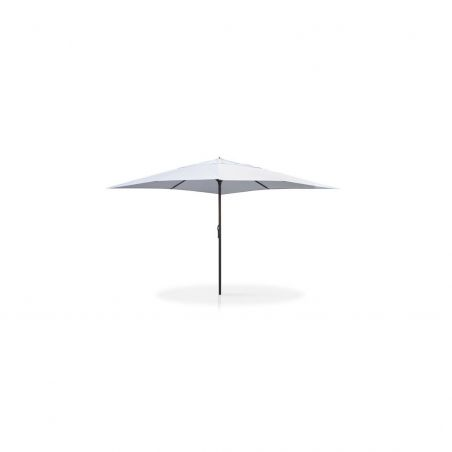 Parasol EASY OPEN LED 4m x 4m - mât anthracite - VLAEMYNCK