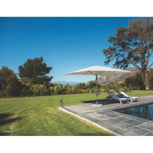 Parasol carré 3 m x 3 m - FORTERO - GLATZ - Confort Jardin - Les Issambres