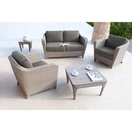 Canapé de jardin 2 places BRITON - LES JARDINS