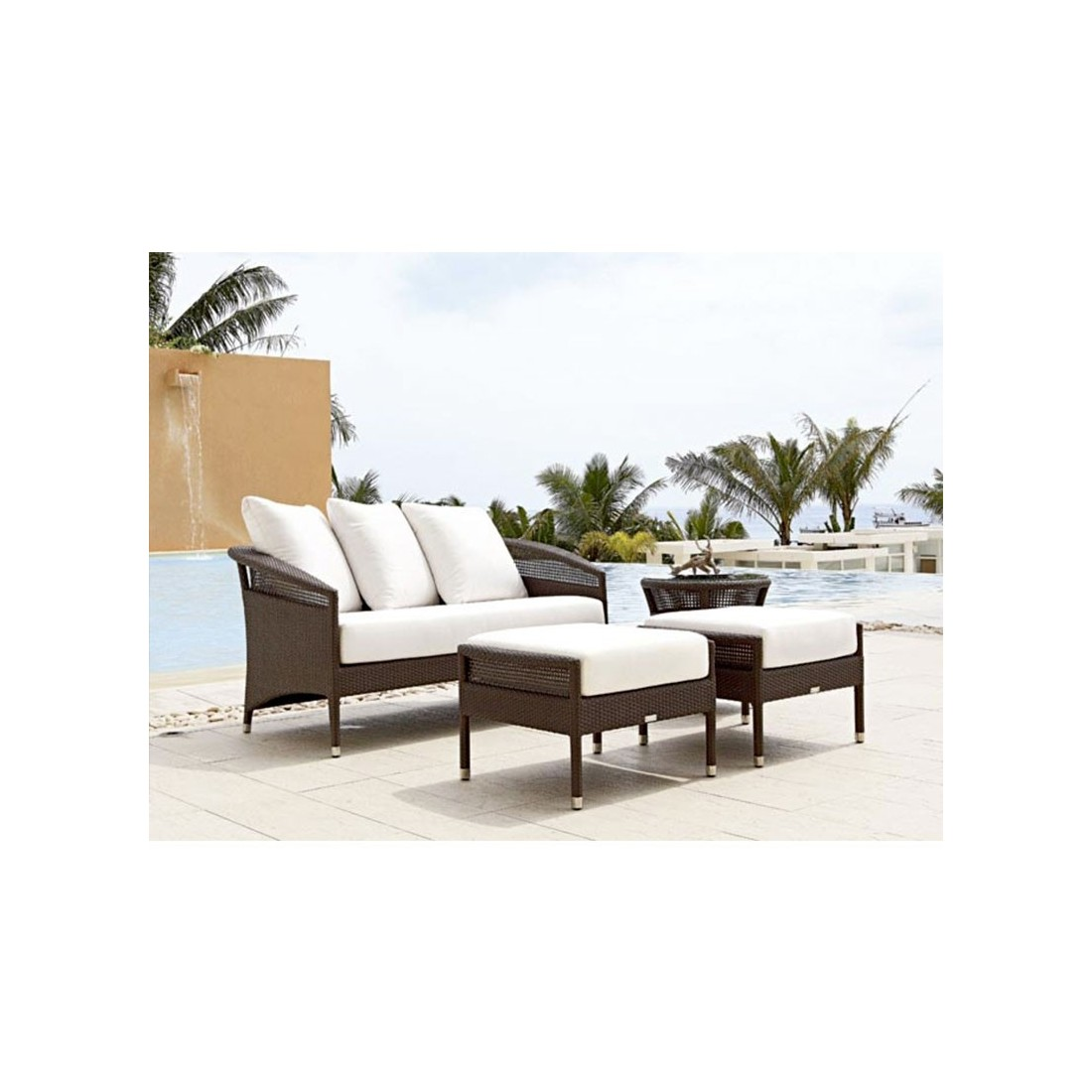 ensemble de salon florida shell island de rausch. Black Bedroom Furniture Sets. Home Design Ideas