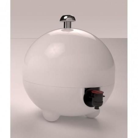 Cache cubi 5 L, coloris blanc brillant LaBoul®