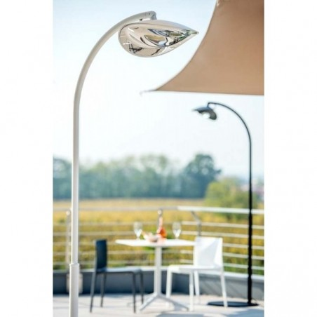Lampe Chauffante Infrarouge Hotdoor - lampadaire simple tige moyenne