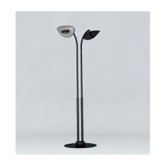 Lampe Chauffante Infrarouge Hotdoor - lampadaire double tige arc court
