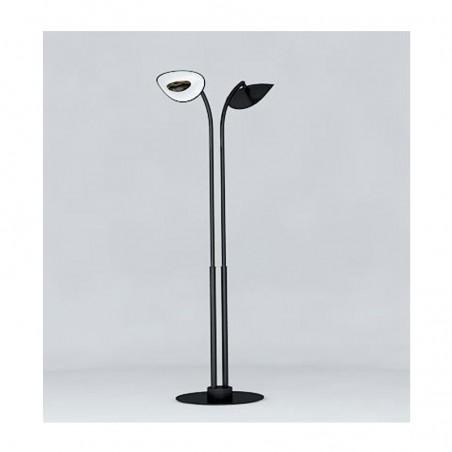 Lampe Chauffante Infrarouge Hotdoor - lampadaire double tige courte