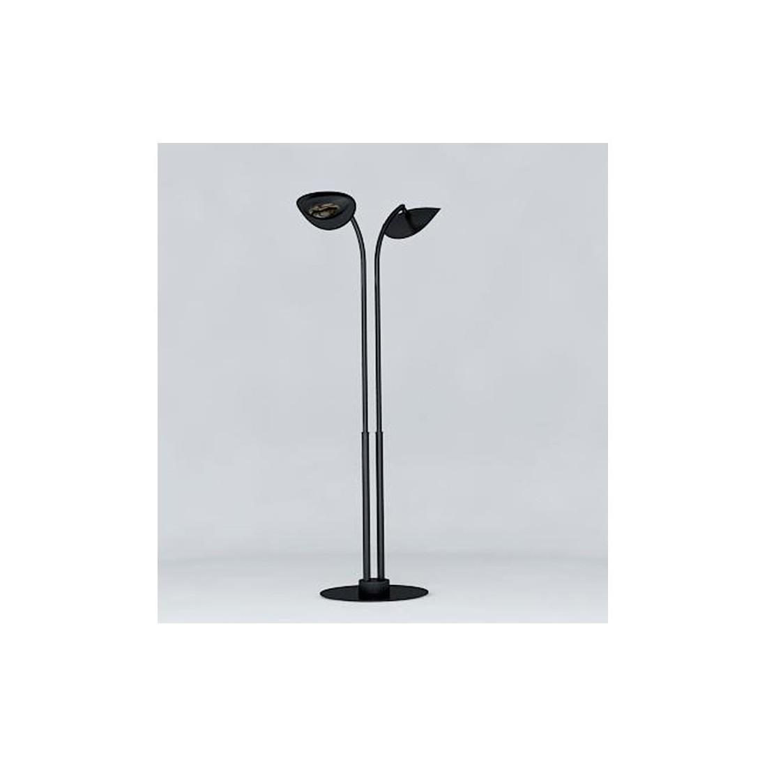 Lampe chauffante infrarouge hotdoor lampadaire simple avec tige moyenne - Lampadaire chauffant terrasse ...