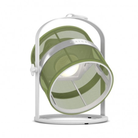 La Lampe PETITE - blanche - Lampe solaire Maiori - Confort Jardin - Issambres