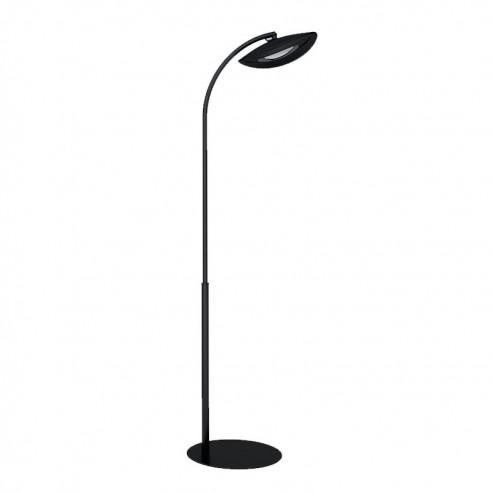 Lampe Chauffante Infrarouge Hotdoor - lampadaire simple tige arc moyen - structure noire