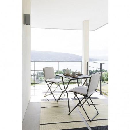 ANYTIME - fauteuil - LAFUMA - Confort Jardin - Issambres - © Pierrick Verny