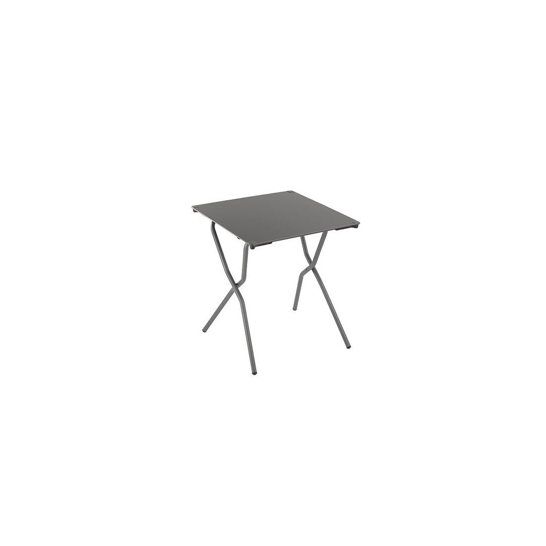 Table carrée pliante ANYTIME de Lafuma, ambiance cocooning et bien ...