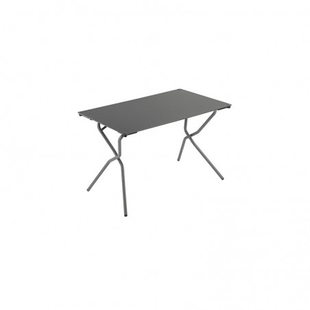 ANYTIME - table pliante rectangulaire 68 x 110 cm - LAFUMA - Confort Jardin - Issambres - © Pierrick Verny