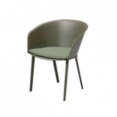 Chaise de jardin avec accoudoirs STAMPA Solid - KETTAL