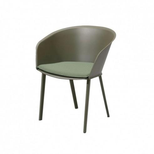 chaise de jardin avec accoudoirs stampa solid kettal kettal confort jardin. Black Bedroom Furniture Sets. Home Design Ideas