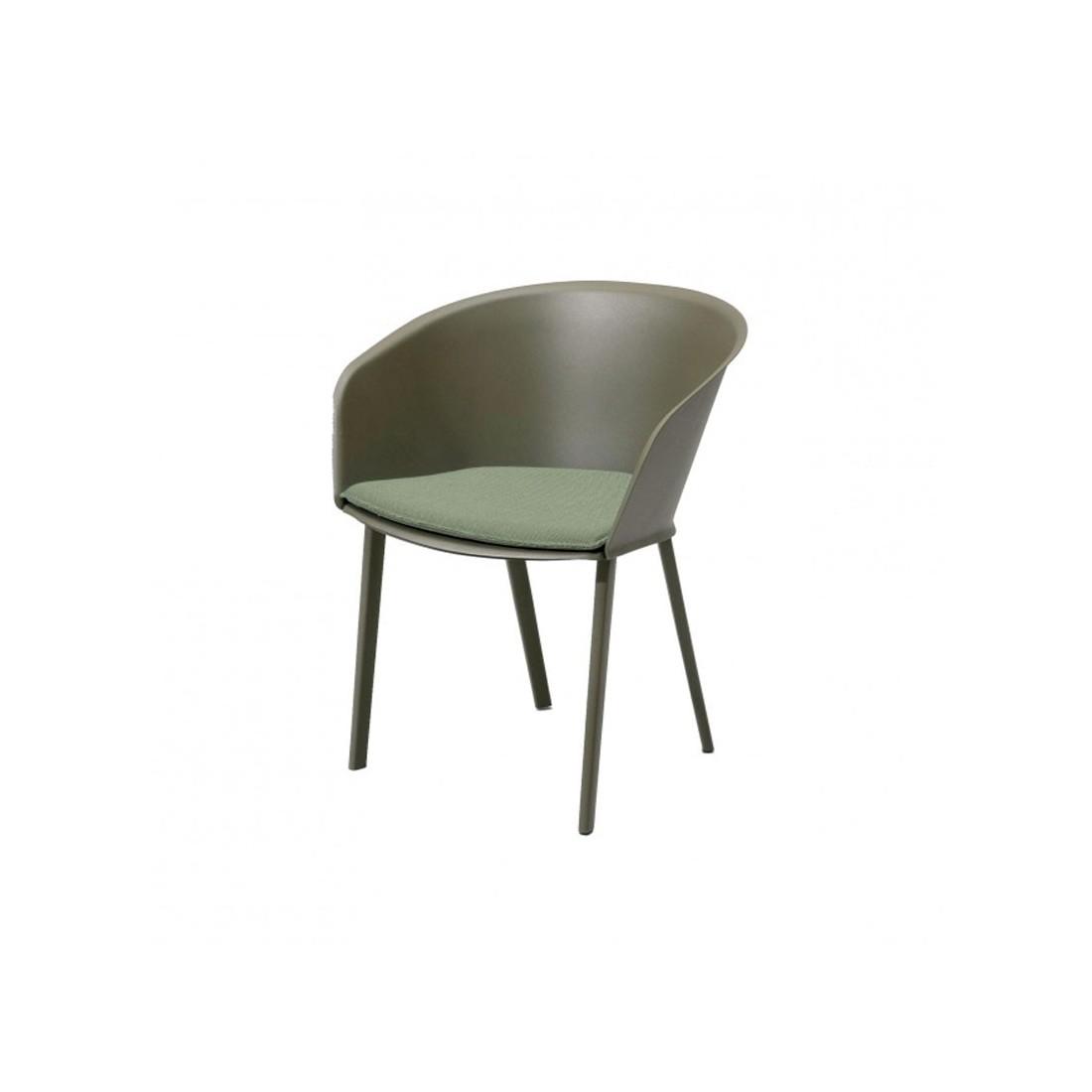 Chaise de jardin avec accoudoirs STAMPA Solid - KETTAL Kettal ...