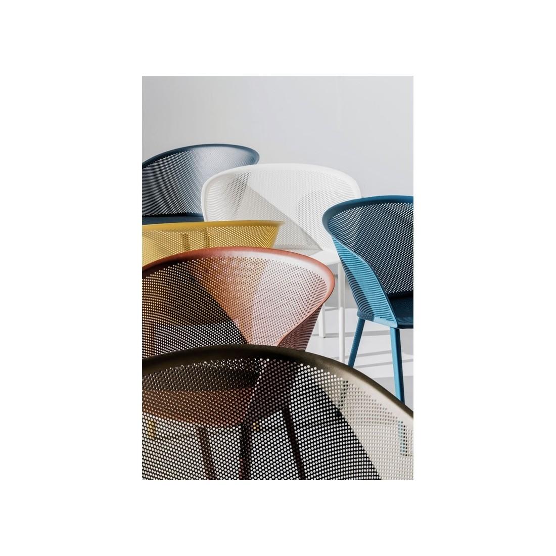 Chaise de jardin avec accoudoirs STAMPA - KETTAL Kettal Confort Jardin