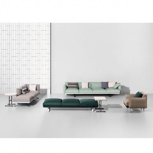 Table auxiliaire rectangulaire 71 x 51 cm BOMA - KETTAL - Confort Jardin - Les Issambres