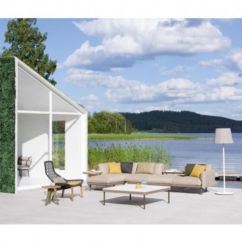 Table basse carrée 121 cm BOMA - KETTAL - Confort Jardin - Les Issambres