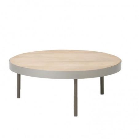 Table basse ronde 91 cm BOMA - KETTAL - Confort Jardin - Les Issambres