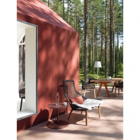 Fauteuil relax MAIA, pieds en teck - KETTAL - Confort Jardin - Les Issambres