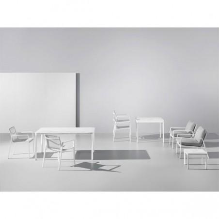 Table repas carrée PARK LIFE - KETTAL - Confort Jardin - Les Issambres