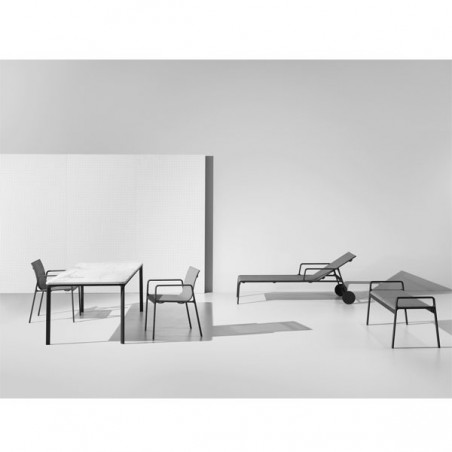 Table repas 6 pers. 160x94 cm PARK LIFE - KETTAL - Confort Jardin - Les Issambres