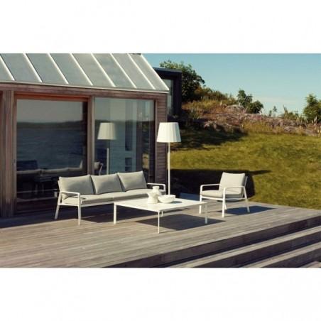 Table basse carrée 120 x 120 cm PARK LIFE - KETTAL - Confort Jardin - Les Issambres