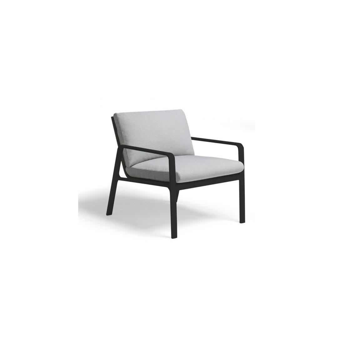 Fauteuil club PARK LIFE - KETTAL Confort Jardin Couleur Kettal - Cadre et  assis blanc