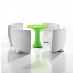 Set Table et 4 chaises COMMUNITY - MYYOUR - Confort Jardin - Les Issambres