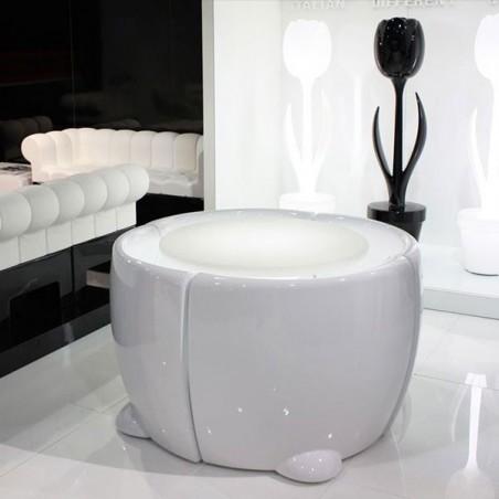 Set Table lumineuse et 4 chaises COMMUNITY - MYYOUR - Confort Jardin