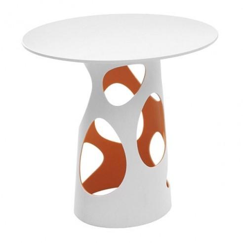 Table LIBERTY L, plateau en HPL blanc - MYYOUR - Confort Jardin