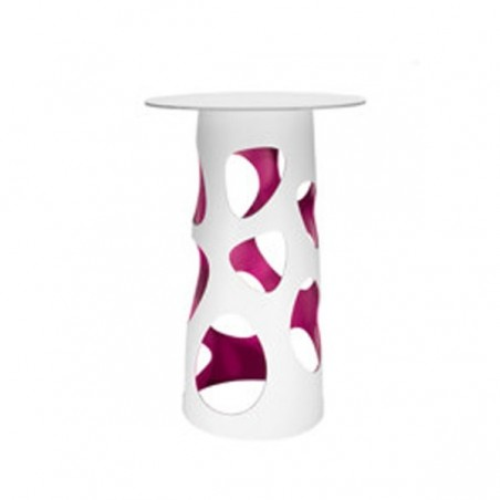 Table LIBERTY XL, plateau en HPL blanc  - MYYOUR - Confort Jardin