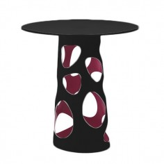 Table LIBERTY XL, plateau en HPL noir - MYYOUR - Confort Jardin