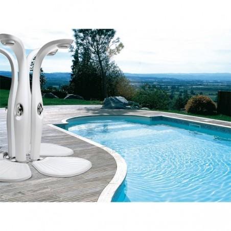 Douche extérieur DYNO avec mitigeur - MYYOUR - Confort Jardin