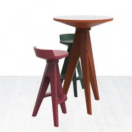 table haute oxford plateau rond myyour confort jardin. Black Bedroom Furniture Sets. Home Design Ideas
