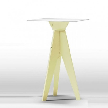 Table Haute OXFORD Plateau Carré - MYYOUR - Confort Jardin