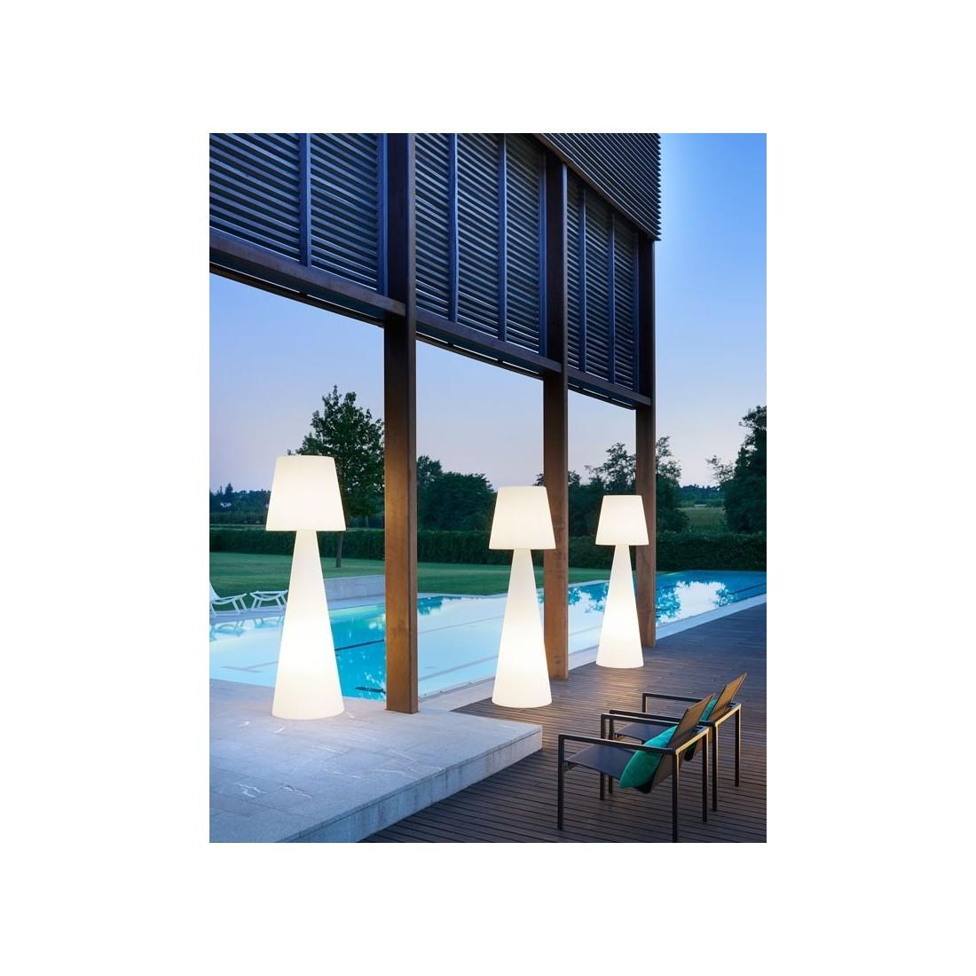 luminaire lampadaire pivot slide confort jardin. Black Bedroom Furniture Sets. Home Design Ideas