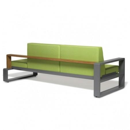 Canapé convertible KAMA accoudoir gauche - EGO - Confort Jardin