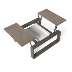 Petite table modulable KAMA  - EGO - Confort Jardin