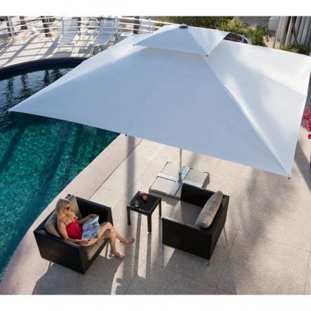 Parasol avec système Easylift - Supremo  - CARAVITA  - Confort Jardin - Les Issambres