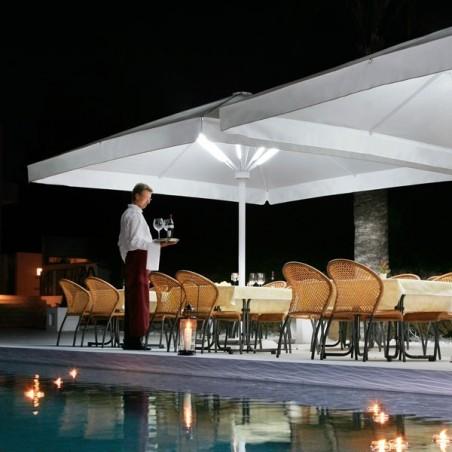Parasol avec manivelle - Big Ben  - CARAVITA - Confort Jardin - Les Issambres